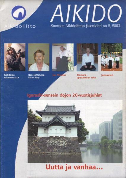 Aikido-lehti 2/2003_