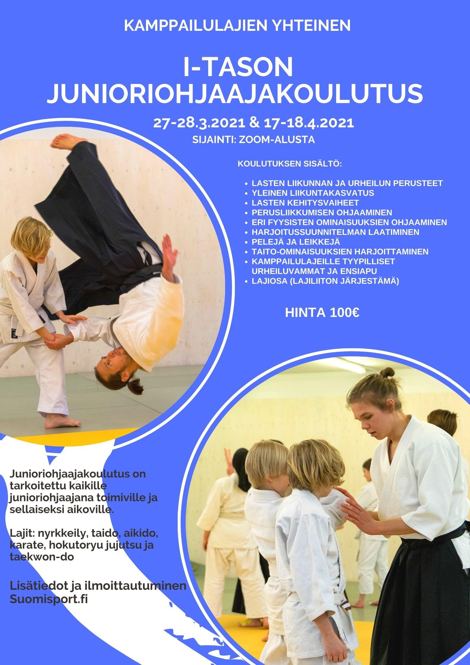 Aikido-Junioriohjaajakoulutus2021